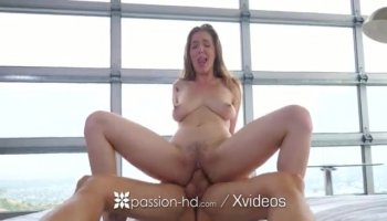Sexy minx opens mouth to suck giant penis