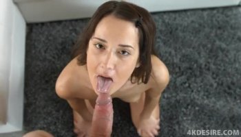 Naughty babe Gia DiMarco lets gym trainer to pound her tight cunt