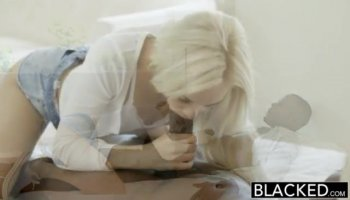 Enormous White Dick Makes Adorable Ebony From Africa Turned On